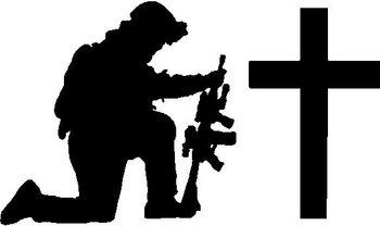 Free Soldier Praying Silhouette Download Free Clip Art