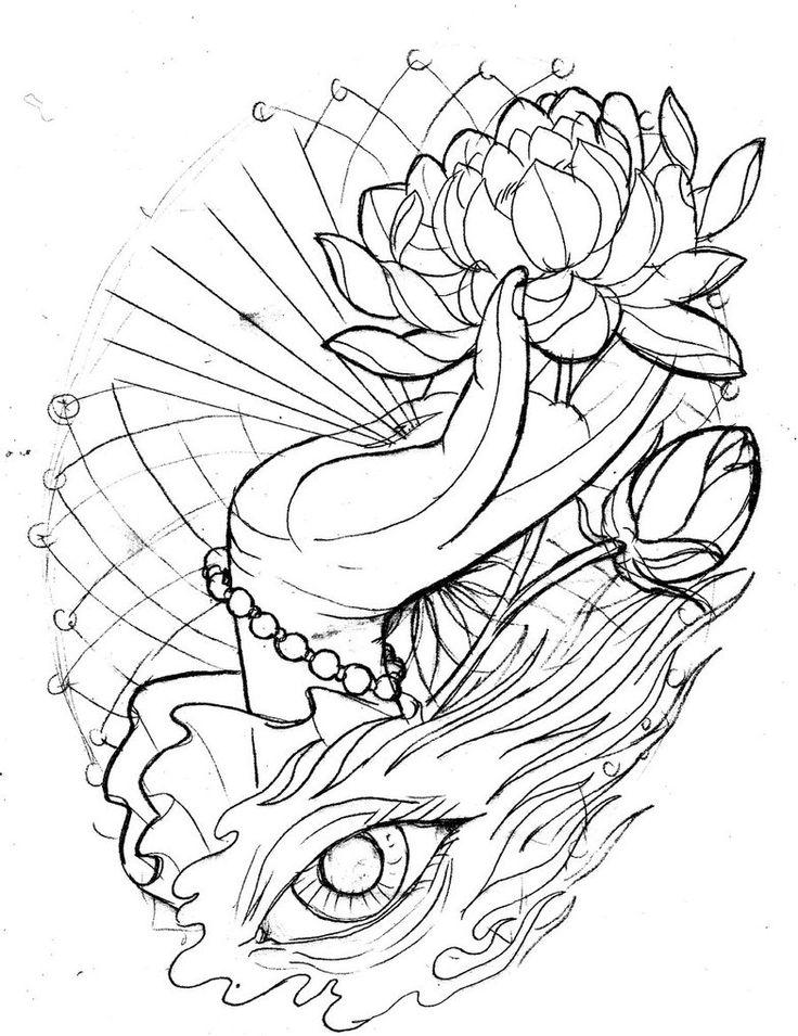 Free Lotus Drawing, Download Free Clip Art, Free Clip Art ...
