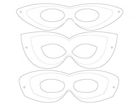 Free Mask Templates Download Free