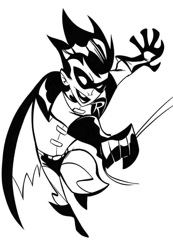 Free Batman Printable Coloring