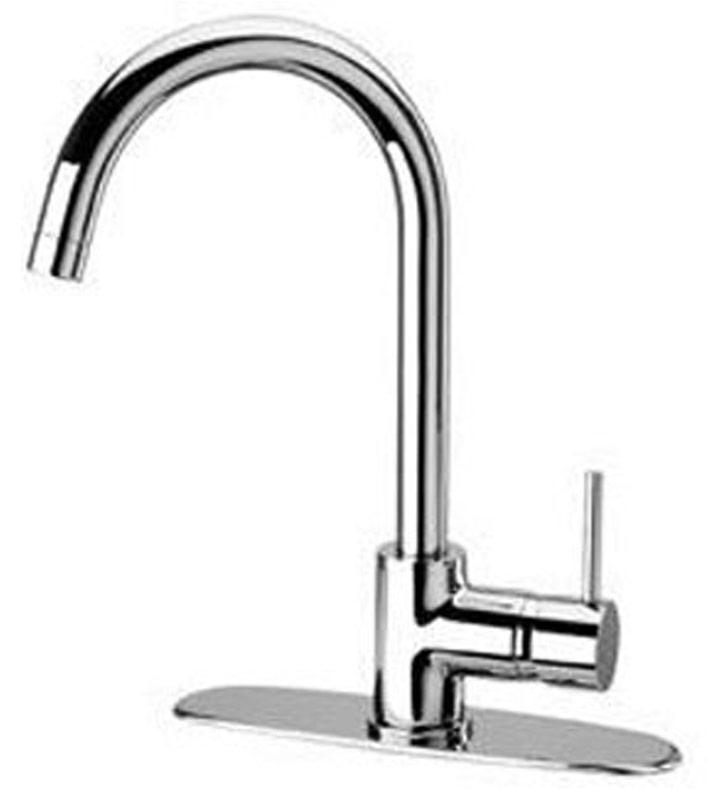 Latoscana Elba Single Handle Pull Down Kitchen Faucet
