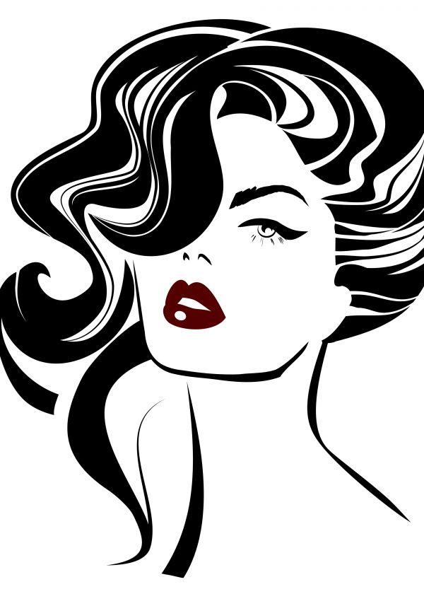 free big red lips download free clip art free clip art