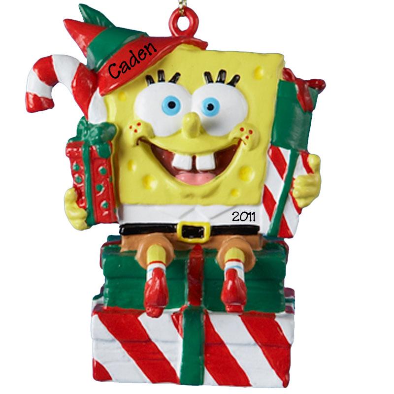 spongebob christmas ornaments