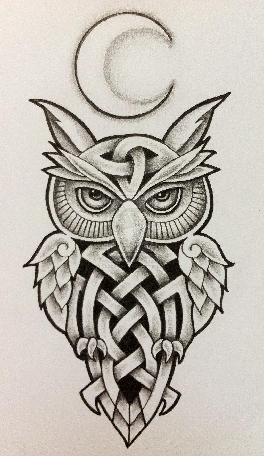 Owl Tattoo Designs Pinterest Gallery Clip Art Library