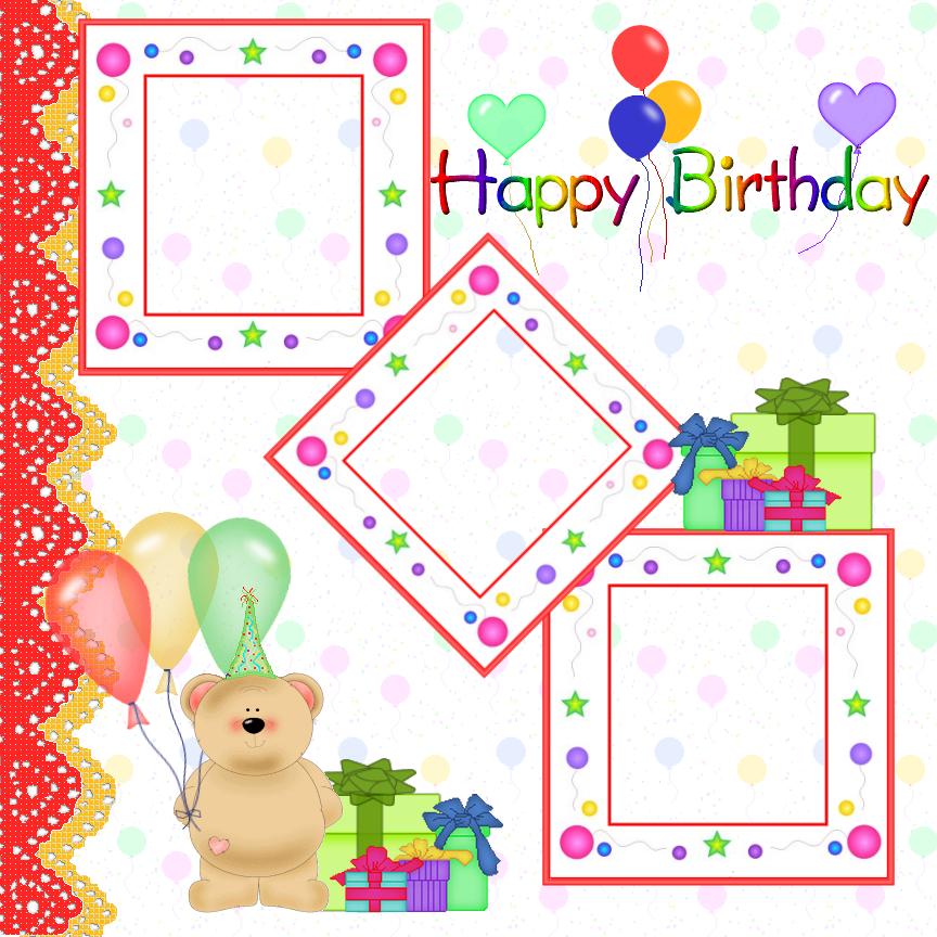 Free Birthday Frames, Download Free Clip Art, Free Clip ...