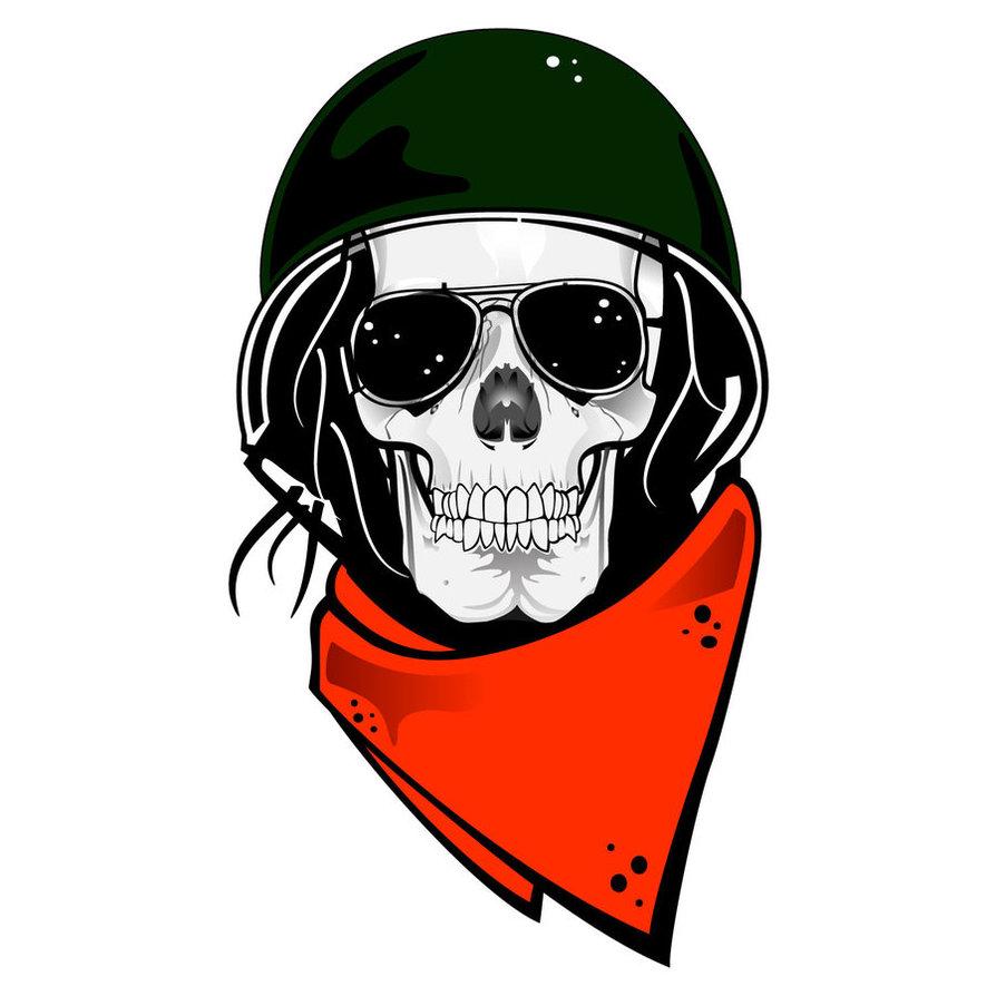 Free Skull Art Vector Download