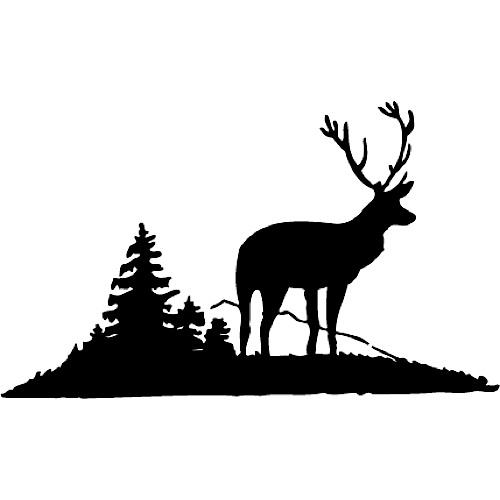 Deer Moose Stencils Etchworld Com Your Glass Etching