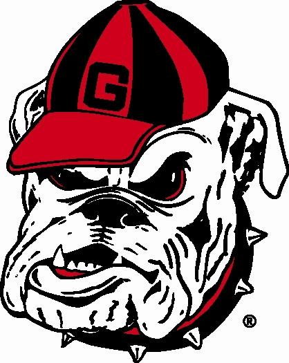 georgia bulldog hat logo - signtorch custom vector art for cnc