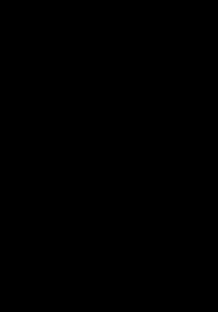 Черно белый рисунок пальмы