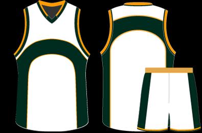 Jersey Design Basketball Vector Clip Art Library