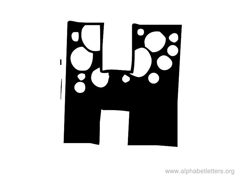 Alphabet Letters H Printable Letter H Alphabets