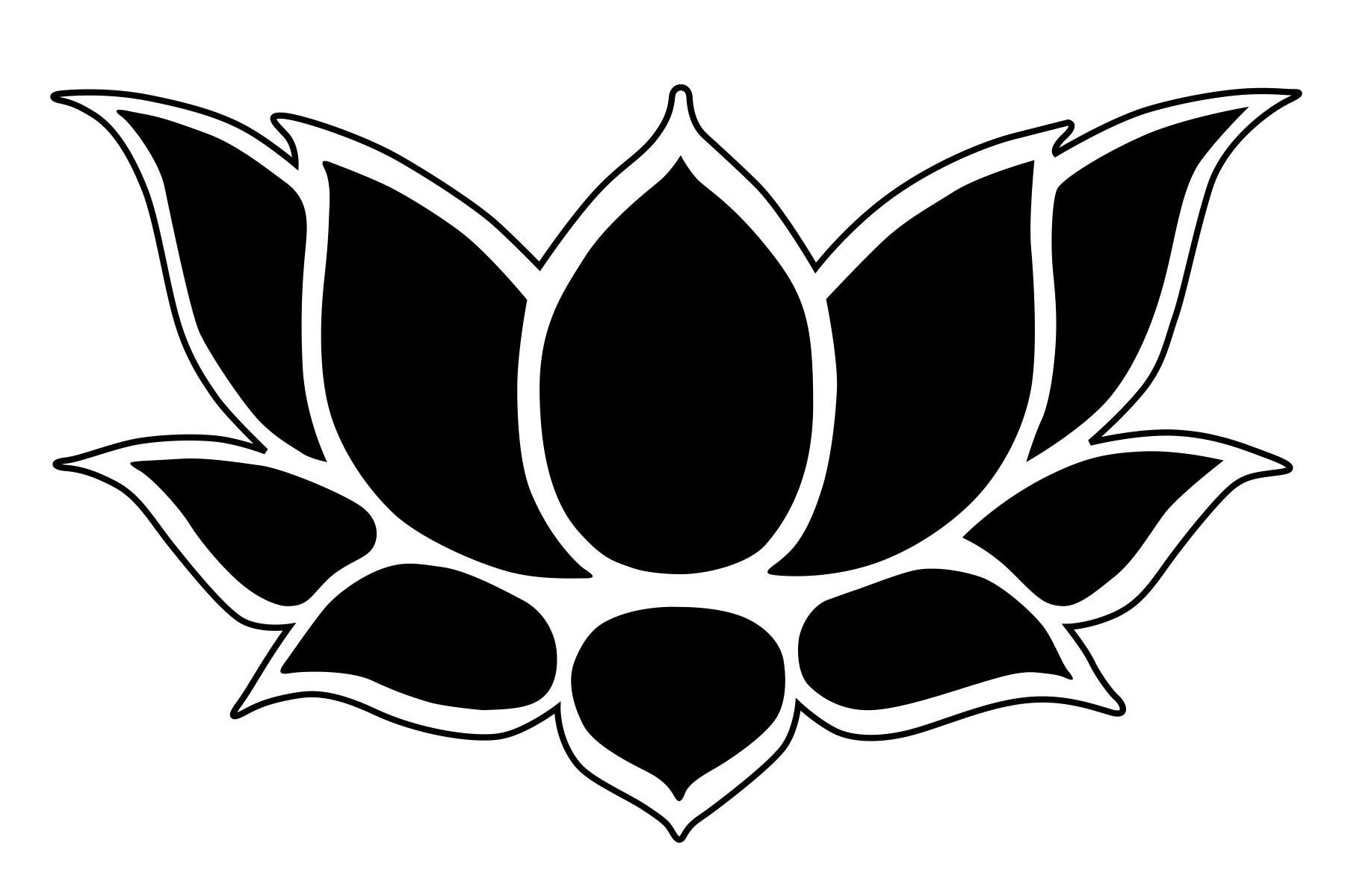 Free Flower Stencil Outline Download