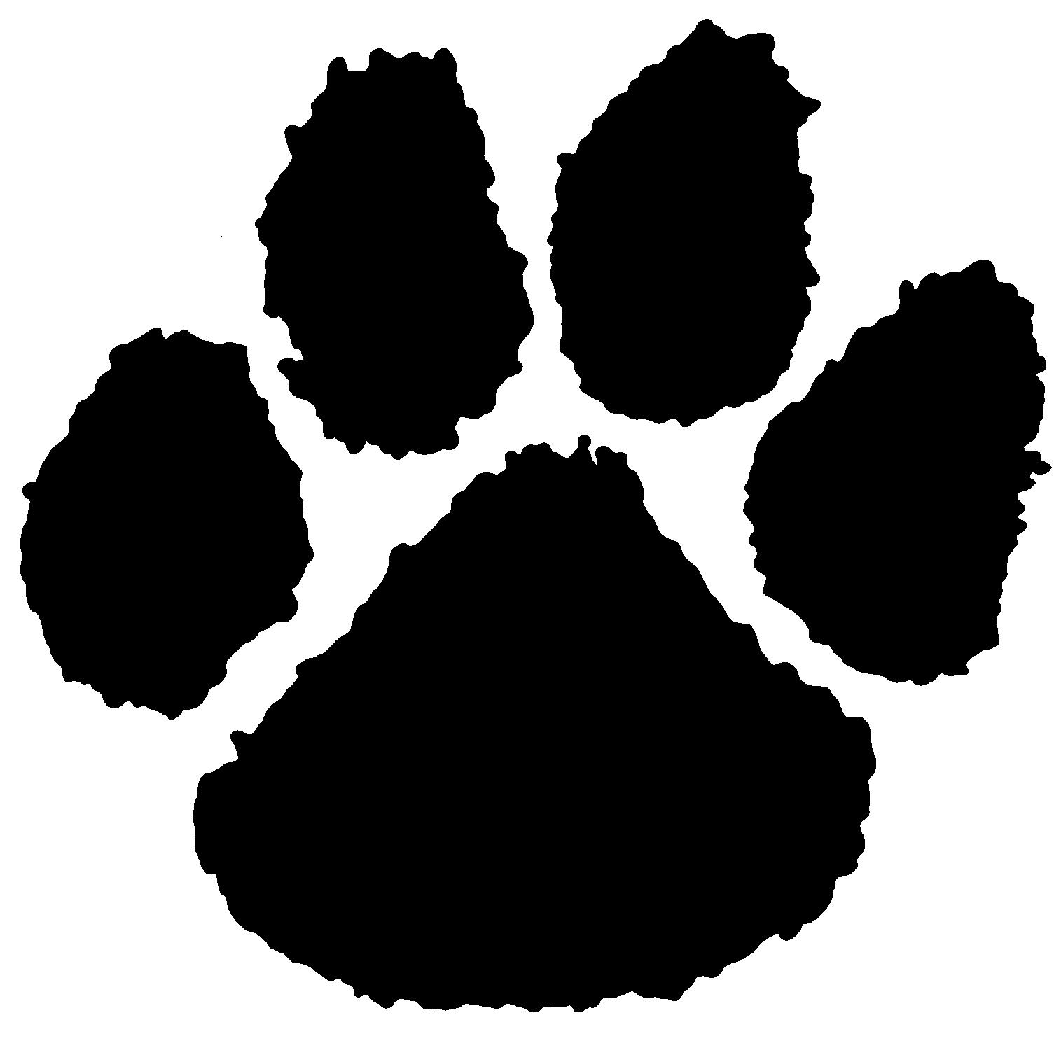 Free Tiger Paw Print, Download Free Clip Art, Free Clip ...