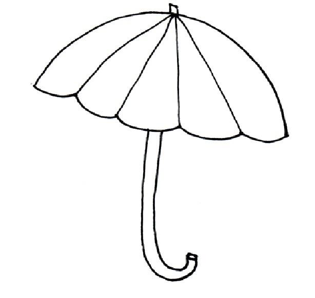 free umbrella template  download free clip art  free clip