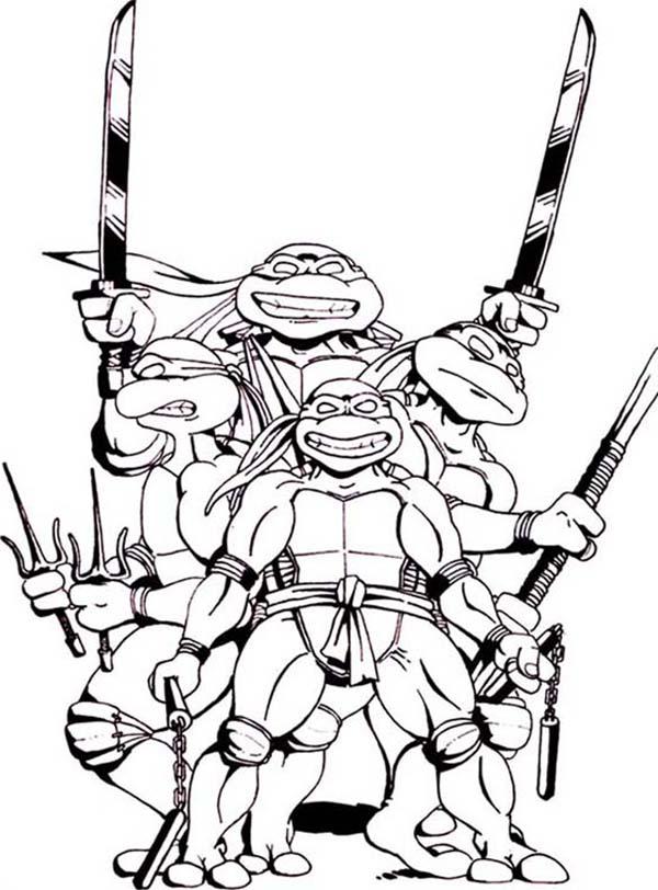 Free Teenage Mutant Ninja Turtles Clipart Download Free