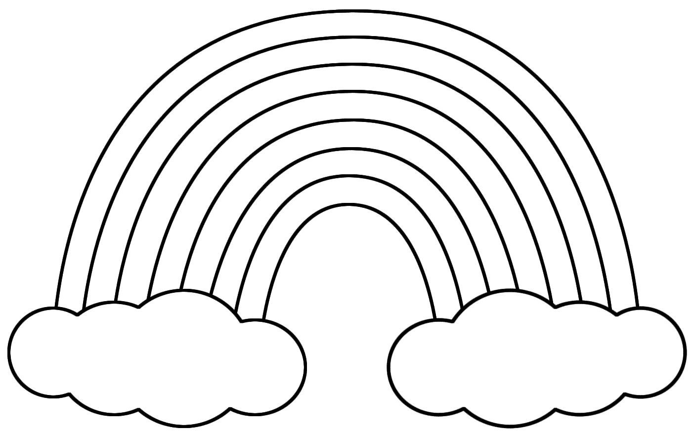 Free Printable Cloud Template, Download Free Clip Art ...