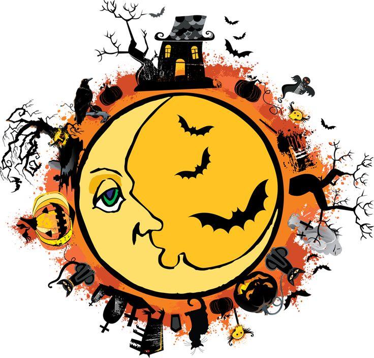 Free Spooky Halloween Clipart