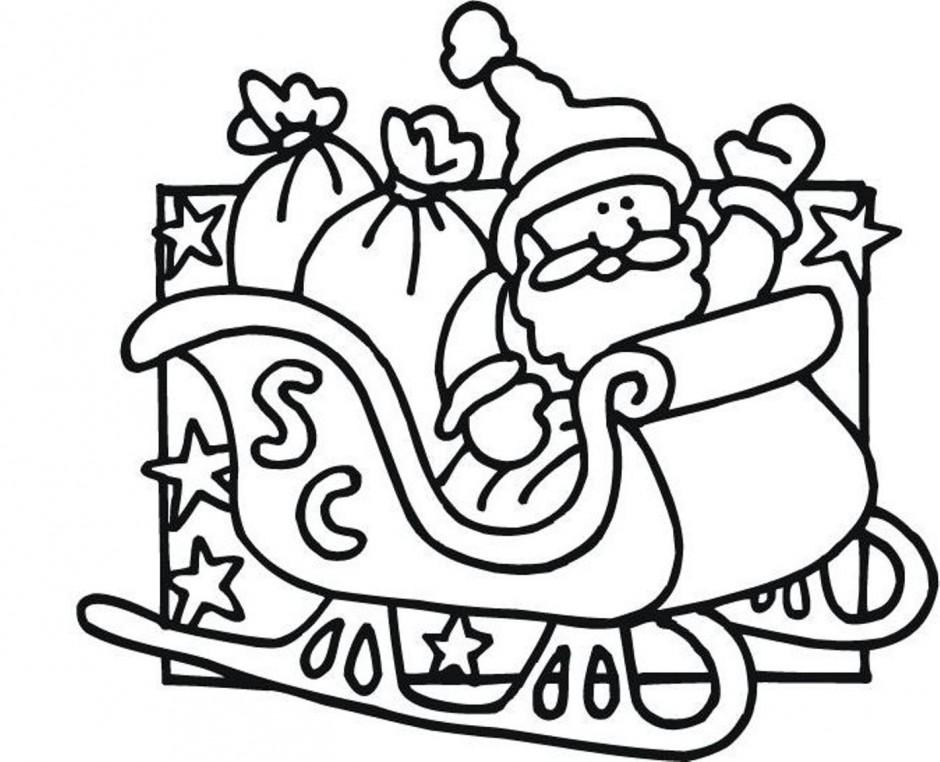 Free Santa Claus On His Sleigh, Download Free Clip Art ...