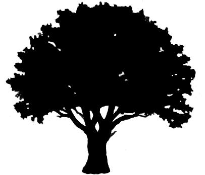 oak tree silhouette | free download clip art | free clip art | on