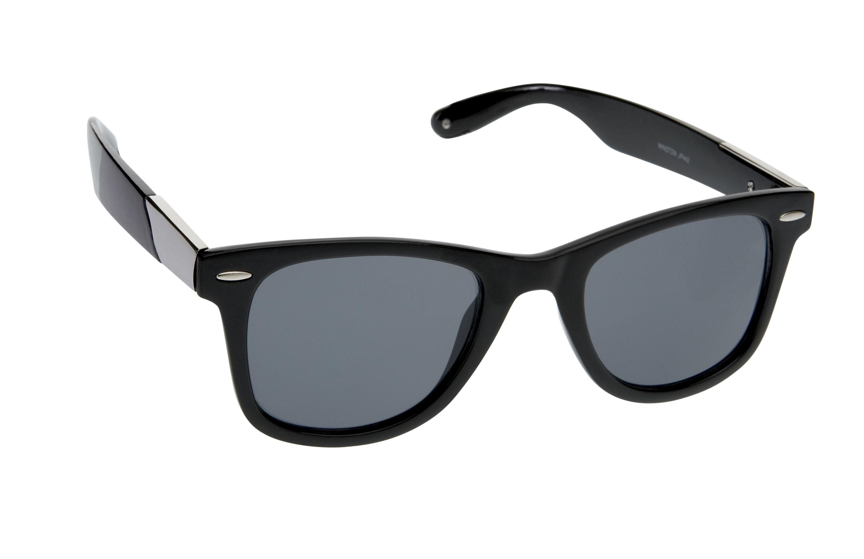 Black Winston Wayfarer Sunglasses From Jeepers Peepers