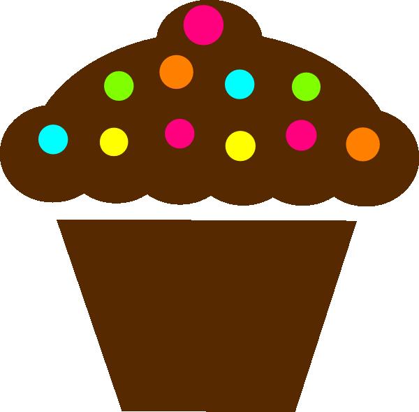 Polka Dot Cupcake Clip Art At Clipart Library Vector