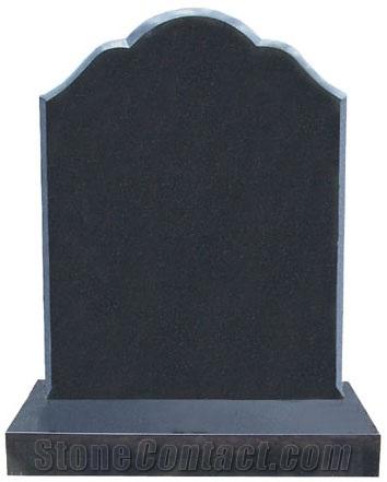 Sell Black Cemetery Gravestone Shanxi Black Granite