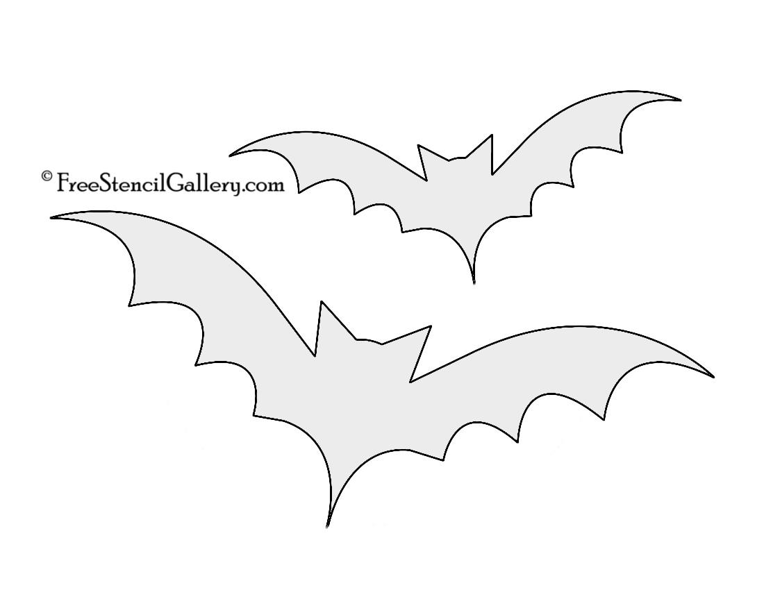 It is a photo of Bat Pumpkin Stencils Printable regarding stranger thing