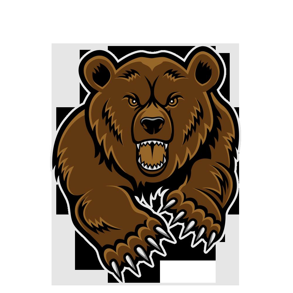 Free Angry Cartoon Bear Download