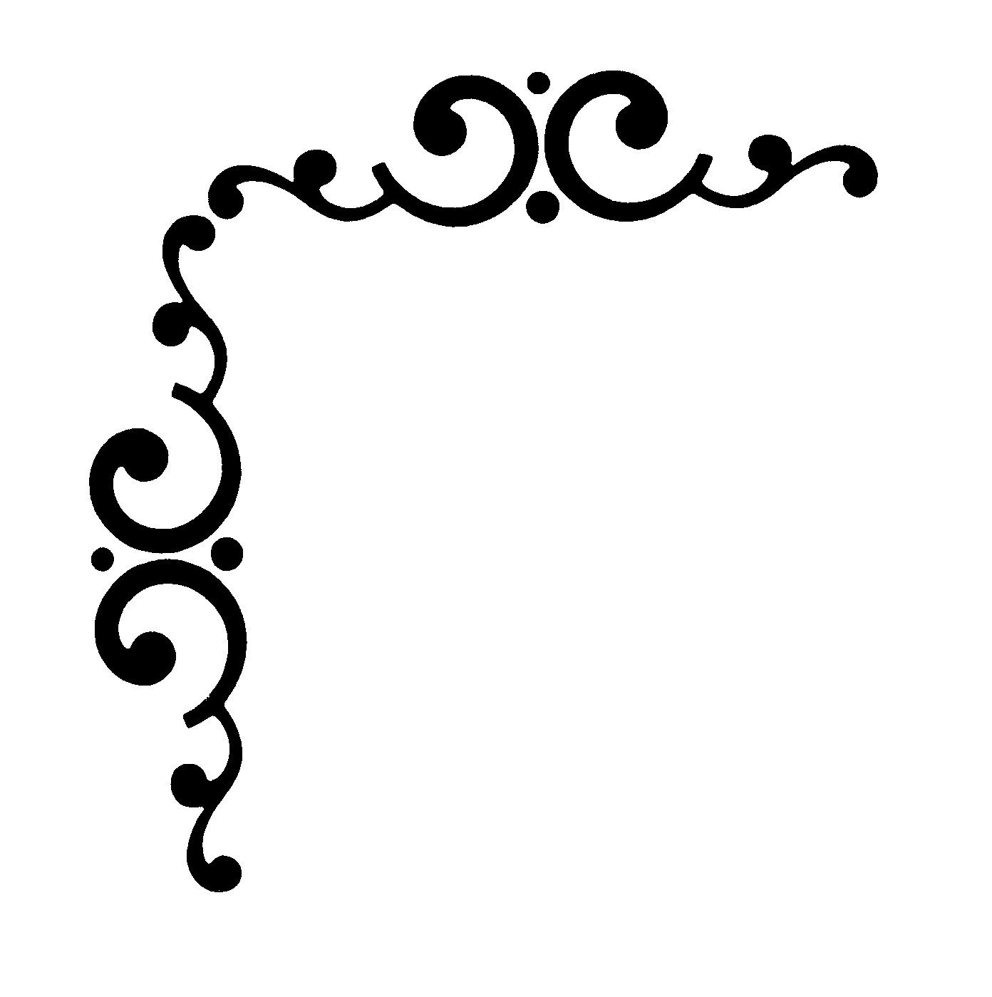 Free Corner Border Design, Download Free Clip Art, Free ...