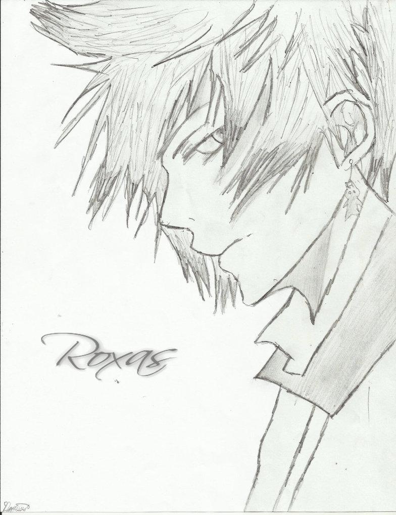 Roxas Kingdom Hearts Drawing images