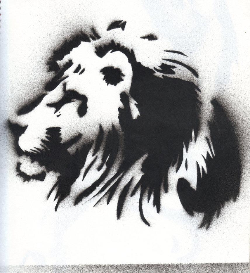 Free Lion Stencil Download Free