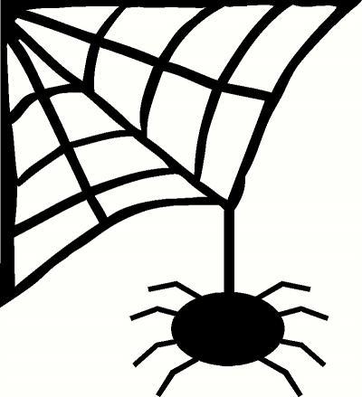 Spider webs clipart - photo#41