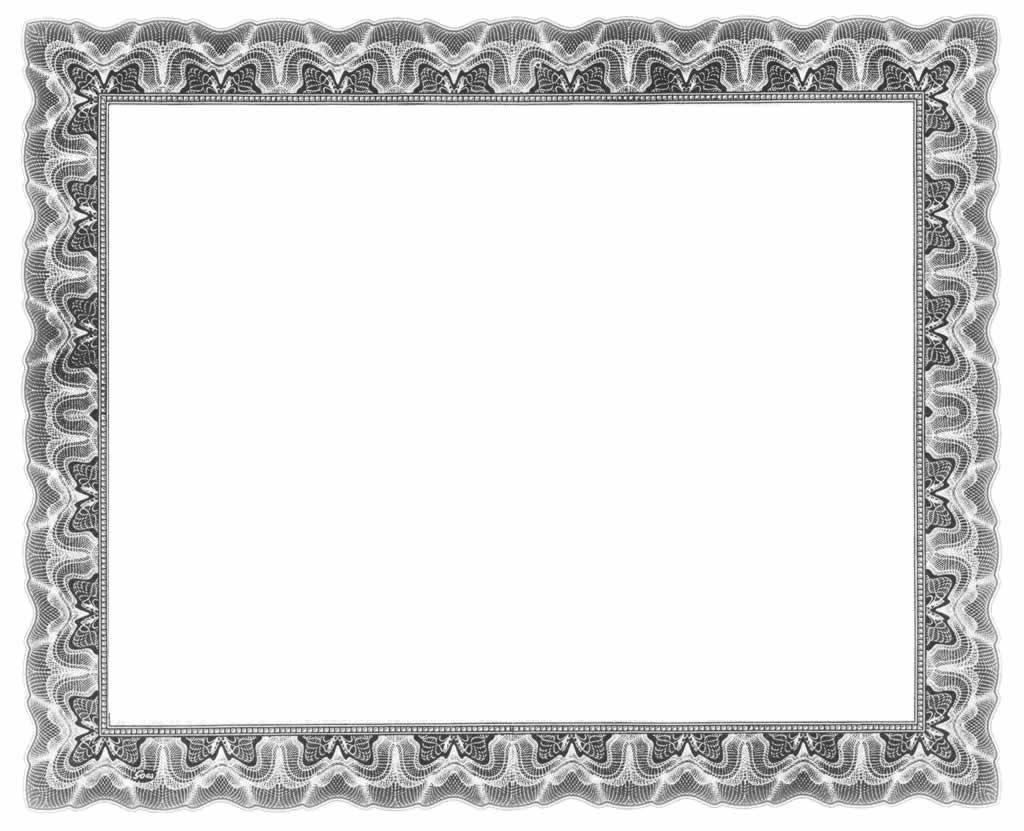 Black Certificate Borders Clip Art   Courseimage