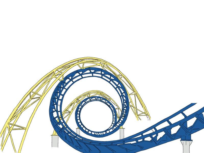 Free Roller Coaster Art Download