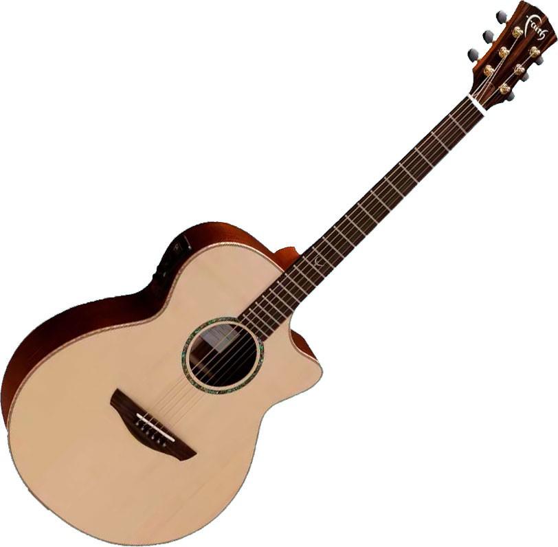 faith venus concert cutaway elektro akustisk gitar l4020. Black Bedroom Furniture Sets. Home Design Ideas