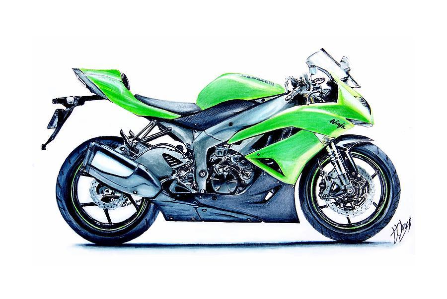 самой картинка мотоцикла для печати сада, только поставил