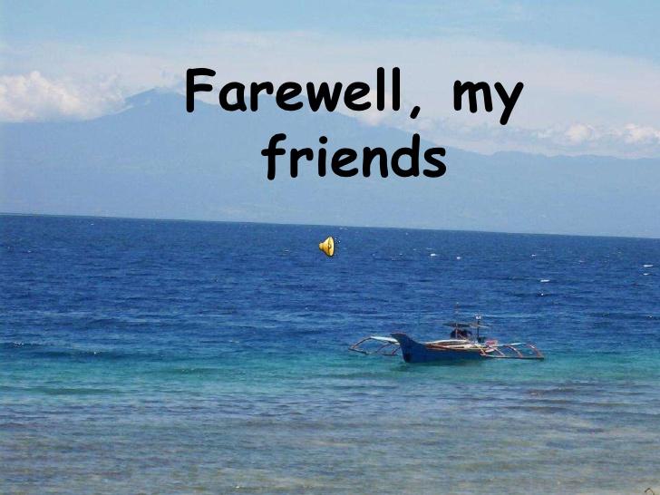 Farewell powerpoint 2