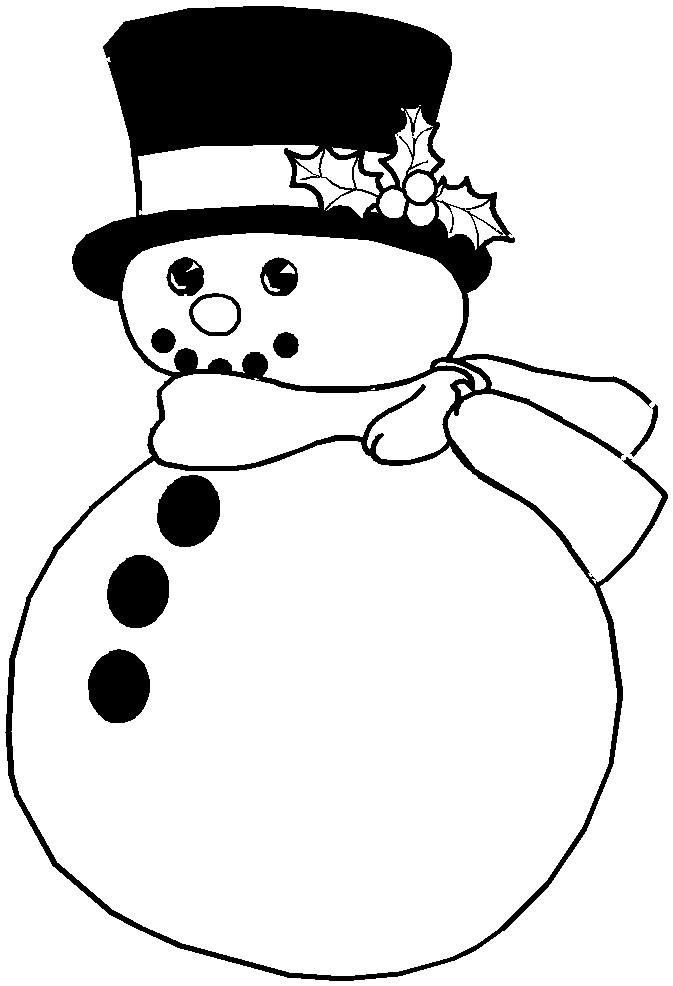 Free Vintage Snowman Images Download
