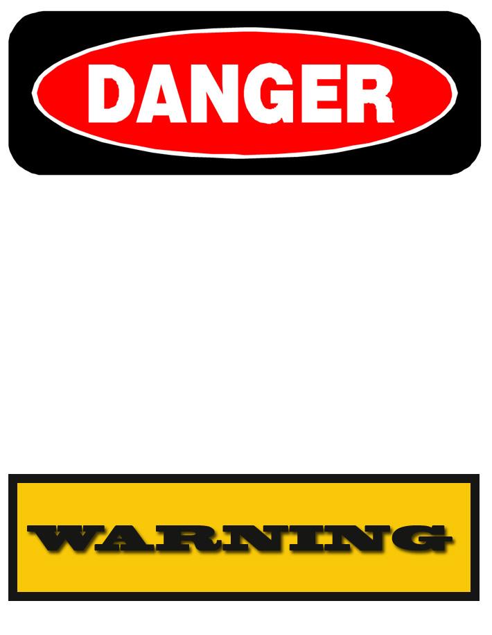 Free Printable Warning Signs Download Free Clip Art Free
