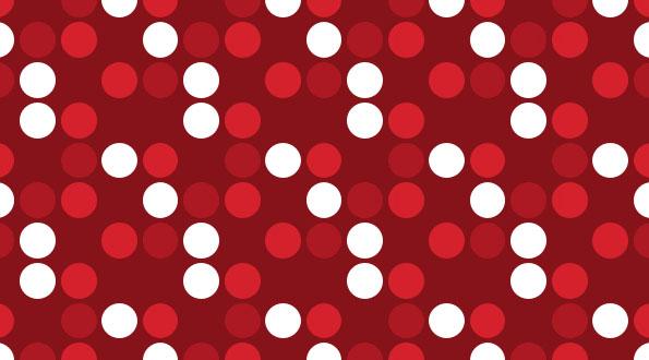 White Polka Dot Wall Stickers