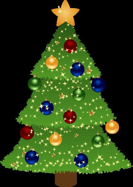 Free Christmas Tree 3 Clip Art