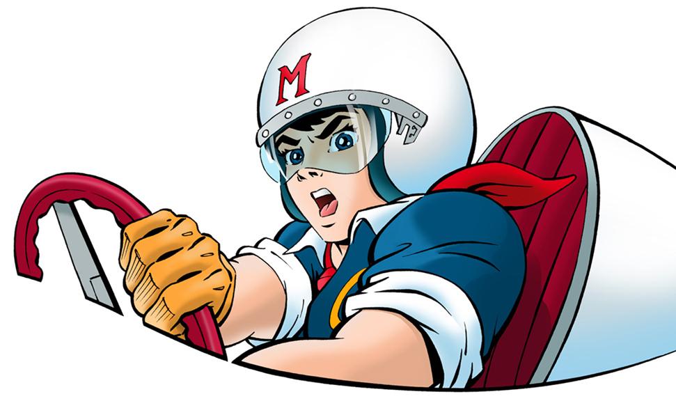 Free Cartoon Race Car Driver Download