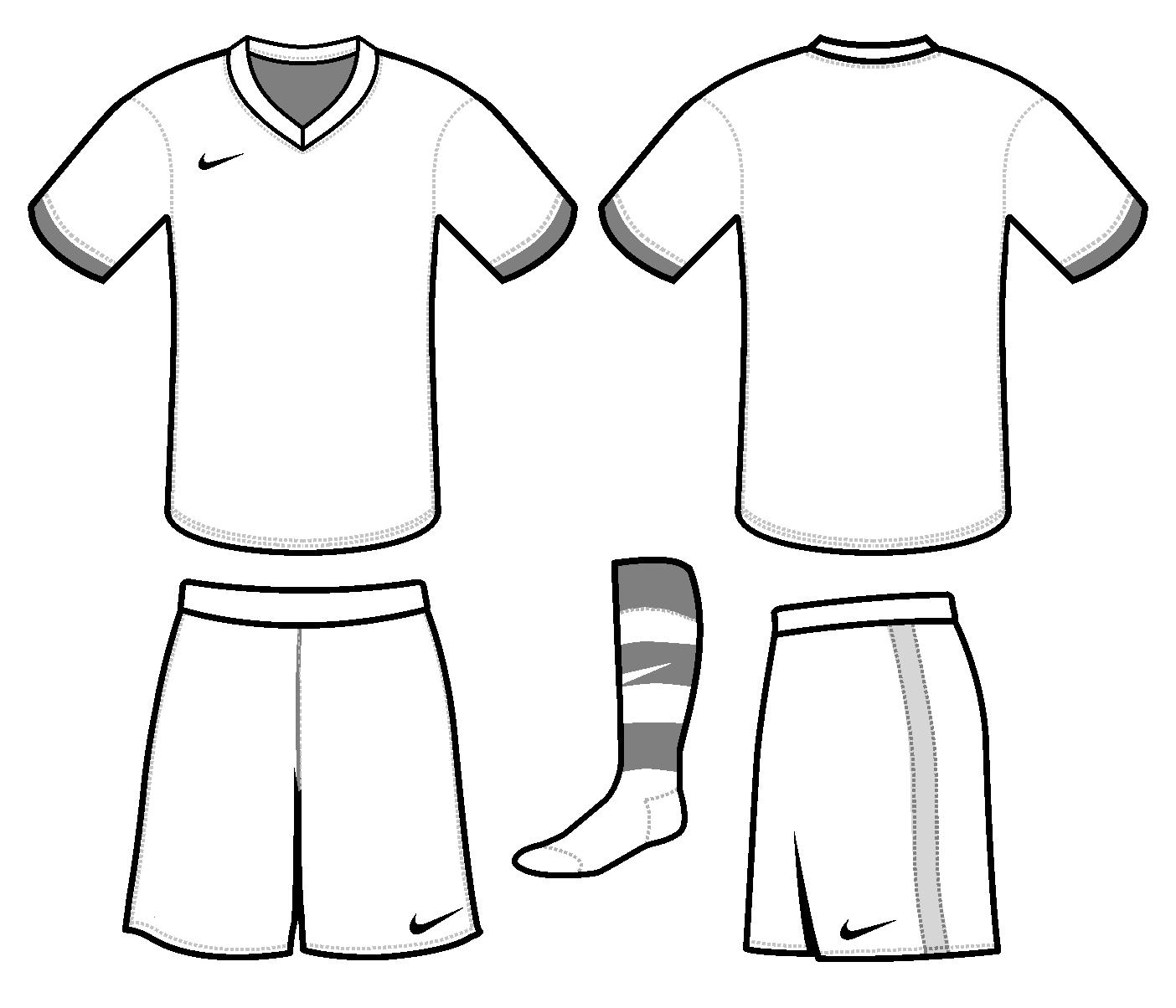 Free Blank Soccer Jersey Template