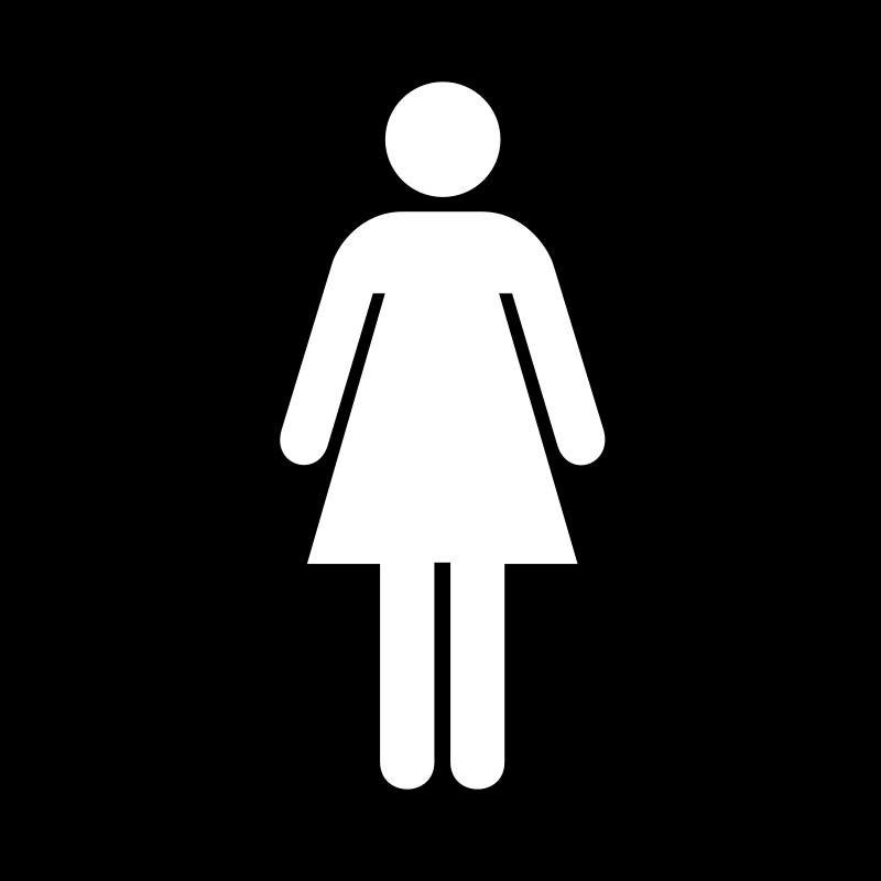 Free Ladies Bathroom Sign Download Free Clip Art Free