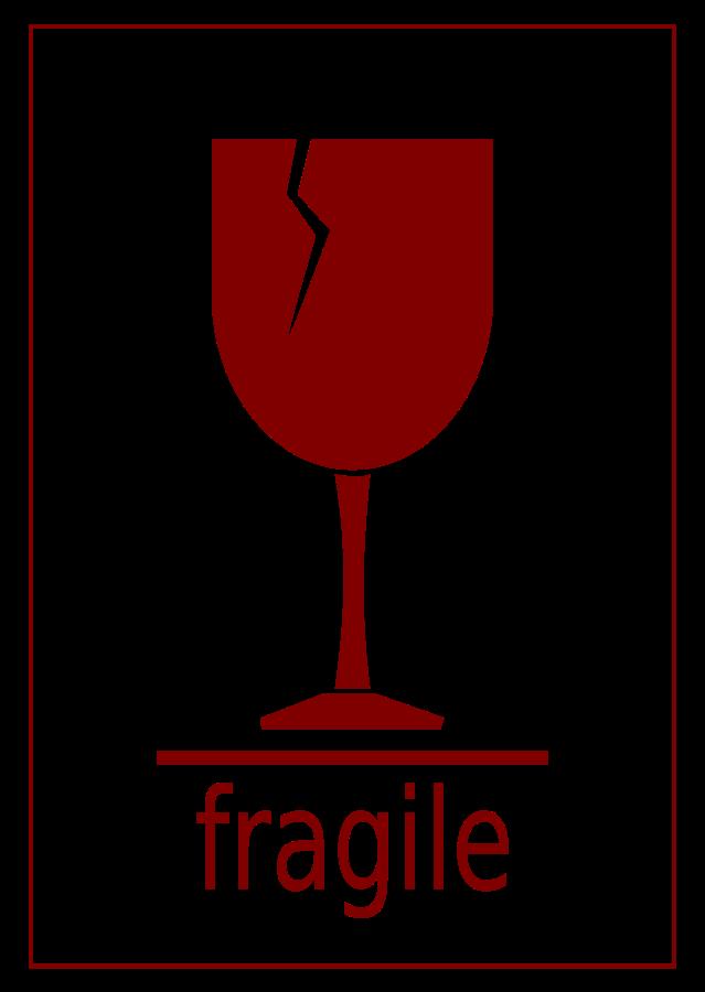 Fragile Label Svg Vector File Vector Clip Art Svg File