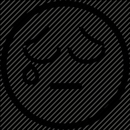 Crying, emoticon, emoticons, face, sad, smiley, tear icon ...