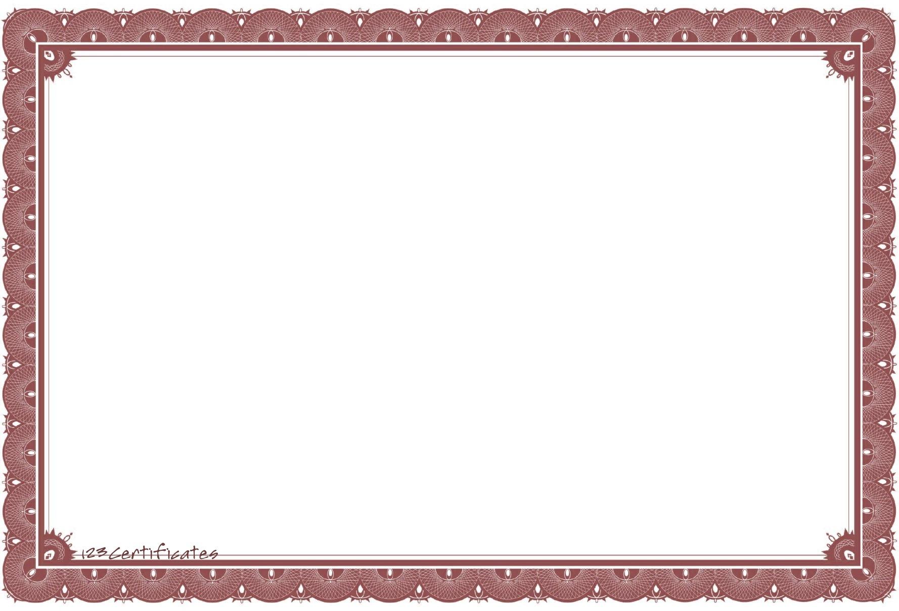 Free Certificate Borders, Download Free Clip Art, Free