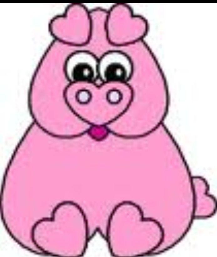 нашей компании свинка открытка из сердечек страна