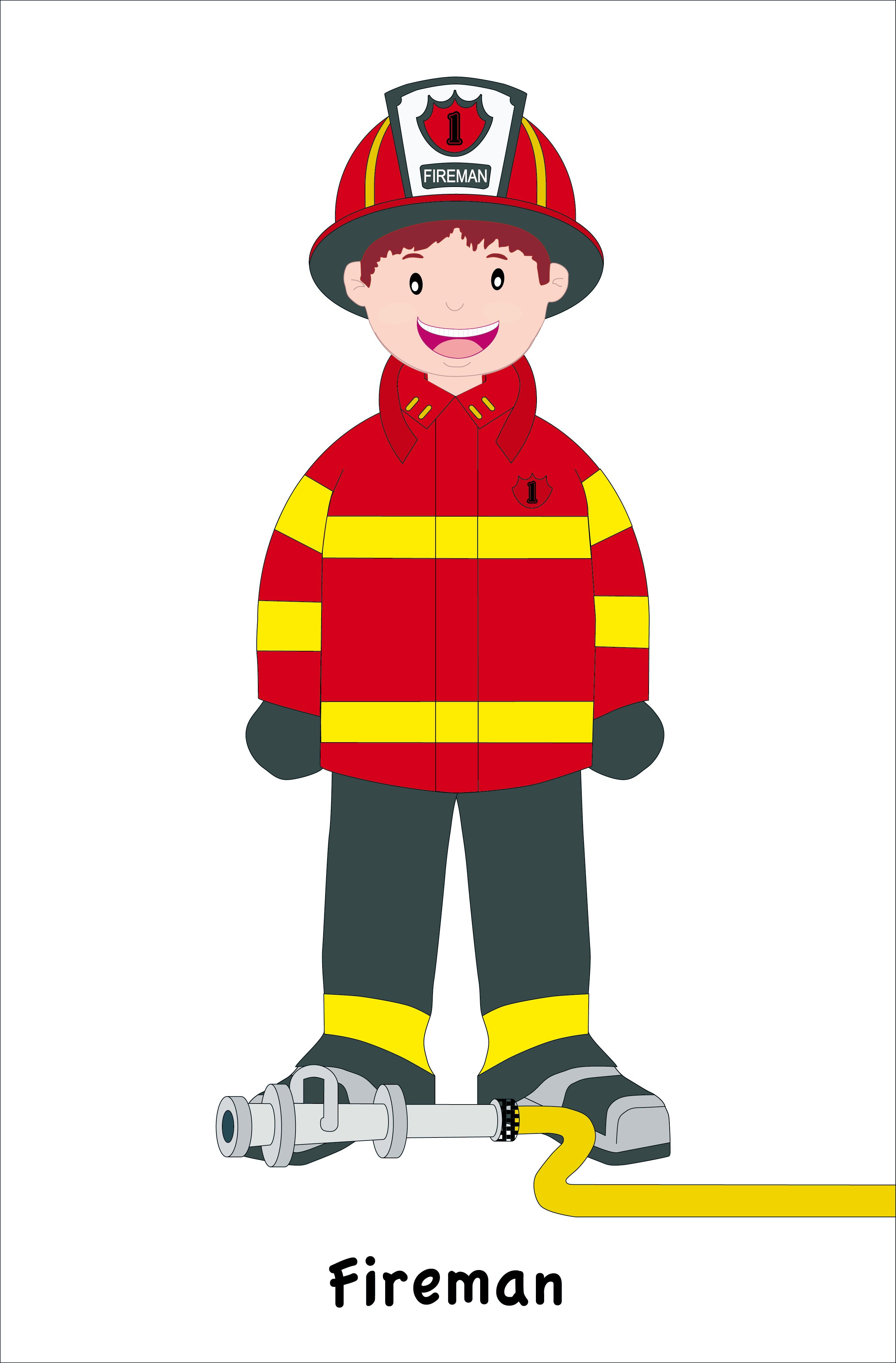 Fireman/Bombero   José Castro ilustrador  Fireman/Bombero...