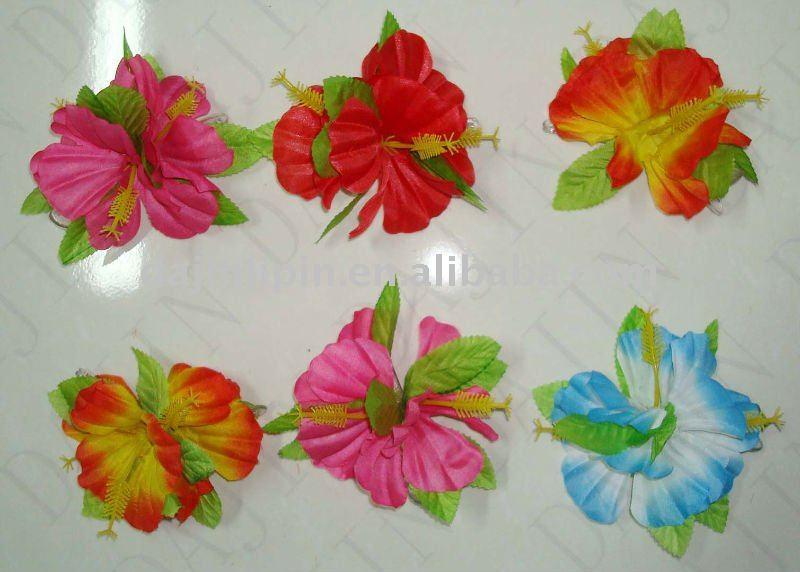 Hawaii de pl stico hawaii flores artificiales handmake flor for Plastico para estanques artificiales